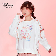 Original Disney Wonderful Fairy Sweatshirt Women's Combed Cotton Sports Pullover Harajuku sweatshirt  women fashion