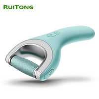 Dropshipping 2019 Electric Foot File for Heels Feet Dead Skin Callus Remover Electronic Pedicure Foot Care Tools RuiTong