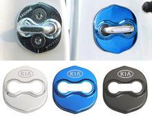 Car Door Lock Covers Emblems Car Styling Case For KIA Kia Sportage Forte Sorento Soul K2 K3 K4 K5 K3S KX5 car accessories