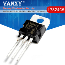 10PCS L7824CV TO220 L7824 TO 220 7824 LM7824 MC7824 신규 및 기존 IC