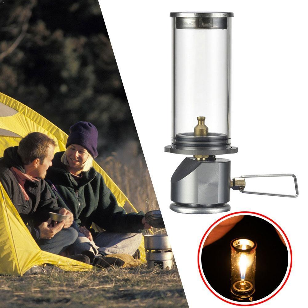 BRS-55 Outdoor Camping Lamp Ultralight Portable Gas Lantern Hiking Camping Emergency Night Lamp Tourist Gas Tent Lights Too I8D0
