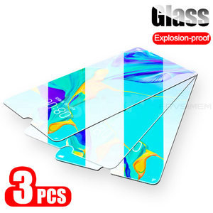 3Pcs Full Cover Clear Tempered Glass For Huawei Y6S Y8P Y9S Y5P Glass Y6P Y7P Y6 Y7 Y9 Prime 2019 Protective Film Y5 2018