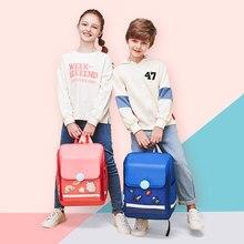 25L Kids Children Backpack Rucksack Adjustable Reflective Large Capacity Waterproof Student School Shoulder Bag
