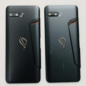"""Image 3 - Capa de vidro para celular asus, nova, 6.59 """", rog phone ii, zs660kl, 3d, carcaça traseira, bateria, lente de vidro «i001da i001de"""