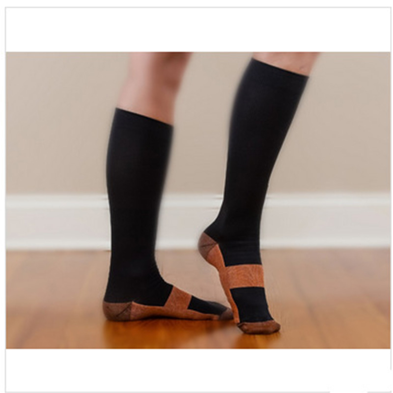 Image 4 - Anti Fatigue Compression Socks Great for travel Varicose veins Women and Men's Miracle copper socks Leg Massager-in Massage & Relaxation from Beauty & Health
