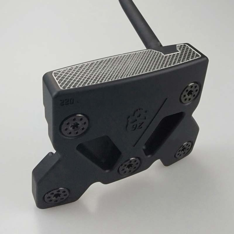 OR Second Generation Putters Black Butterfly Skull Golf Clubs Black Steel Shaft With Rod Cover Ems Free Shipping