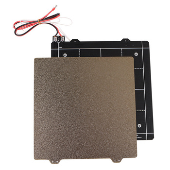 24V Magnetic Heated Bed and Double Sided Powder Coated PEI Steel Sheet 3D Printer Part for Ender-3 @M23