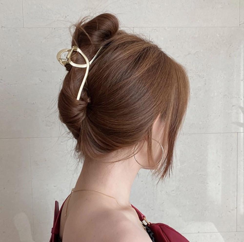 Ruoshui женские металлические заколки для волос аксессуары шикарный