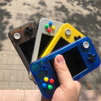 Handheld Game Console 32GB for Game Kiddy GKD350H 3.5 High Brightness IPS LCD with Colorful ABXY Buttons Keys Controller