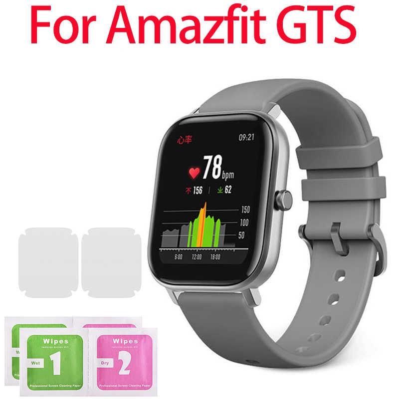 1/2/5Pcs מזג זכוכית מסך מגן עבור Amazfit GTS חכם שעון מגן מסך סרט ברור כיסוי מגן סרט Dropship