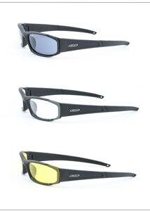 Image 2 - العلامة التجارية الأصلية الاستقطاب النظارات الشمسية الرجال UV400 4 عدسات التكتيكية نظارات الجيش نظارات الباليستية اختبار رصاصة واقية نظارات