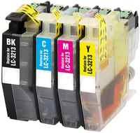 4PK LC3213 Cartuccia di Inchiostro compatibile per il Fratello DCP-J572DW/J772DW/J774DW, MFC-J491DW/J497DW/J890DW/J895DW