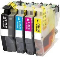 4PK LC3213 compatible Ink Cartridge for Brother DCP J572DW / J772DW / J774DW, MFC J491DW / J497DW / J890DW / J895DW