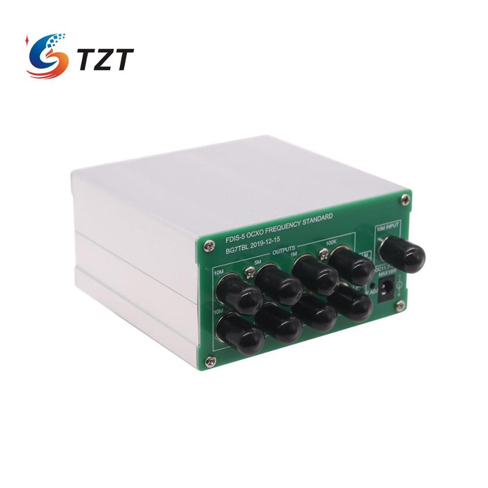 OCXO Frequency Standard w// 10MHz 5MHz 1MHz 100KHz 1PPS Outputs Power Adapter ts
