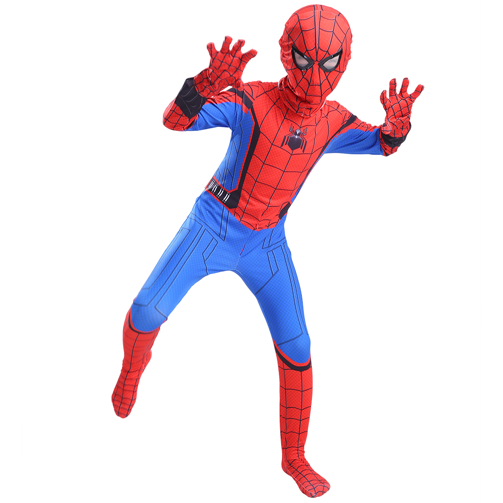 Kids Superhero Homecoming costume Peter Parker party Cosplay Costume suit halloween costumes for kid Adult superman costume| | - AliExpress