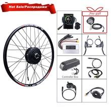 Bafang 48 в 500 Вт Электрический велосипед с зубчатой передачей, мотор, задний привод колеса, eBike конверсионный комплект для постоянного тока, кассета, маховик, двигатель, комплект для электровелосипеда