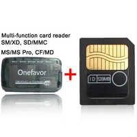 Förderung!!!!!! 128MB 64MB 32MB 16MB 8MB Smart Media Karte mit SD XD MMC CF MS DUO SM Kartenleser