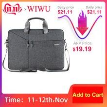 WiWU Laptop Bag 17.3 16 15.6 15.4 14.1 13.3 Waterproof Laptop Bag for MacBook Air 13 Case Notebook Bag for MacBook Pro 13 Case