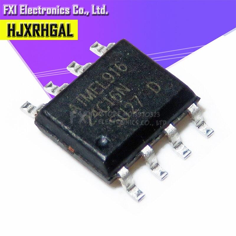 10PCS AT24C16 24C16 SOP SOP8 AT24C16C-SSHM-T- New Original