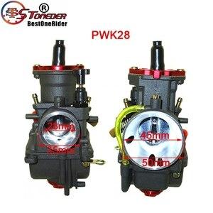 Image 4 - STONEDER NIBBI Carb PWK24 & PWK26 & PWK28 & PWK30 Racing Vergaser Für Pit Dirt Bike ATV Quad Moped Roller motor