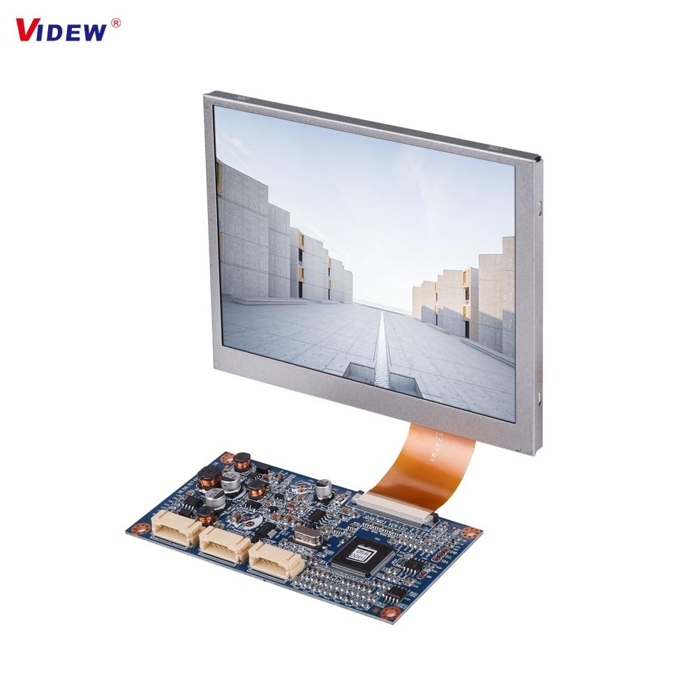 VIDEW 5.6 Inch LCD Module with VGA Input and AV Input Keypad Adjustment OSD Menu Innolux LCD Screen