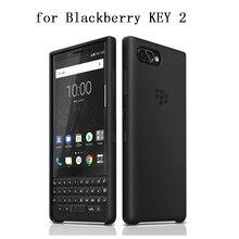 블랙 베리 키 2 key2에 대 한 원래 실리콘 다시 케이스 블랙 베리 keytwo fundas coque capa에 대 한 공식 소프트 젤 보호 피부