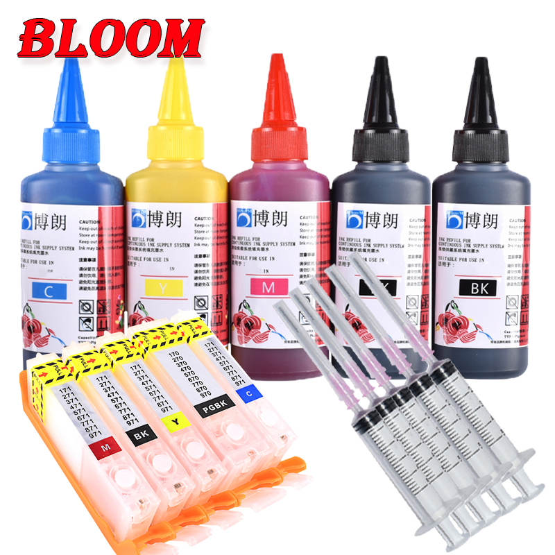 Refill Ink Kit For Pgi 580 Cli 581 Xxl Ink Cartridge  For CANON PIXMA TS705/TR7550/TR8550/TS6150/TS6151/TS6250/6251//TS9550