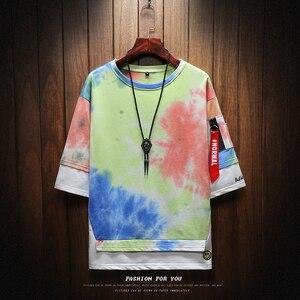 Image 2 - T חולצה גברים Harajuku Streetwear אופנת מצחיק Tshirt גברים T חולצה חצי שרוול היפ הופ חולצה גברים קיץ 2020