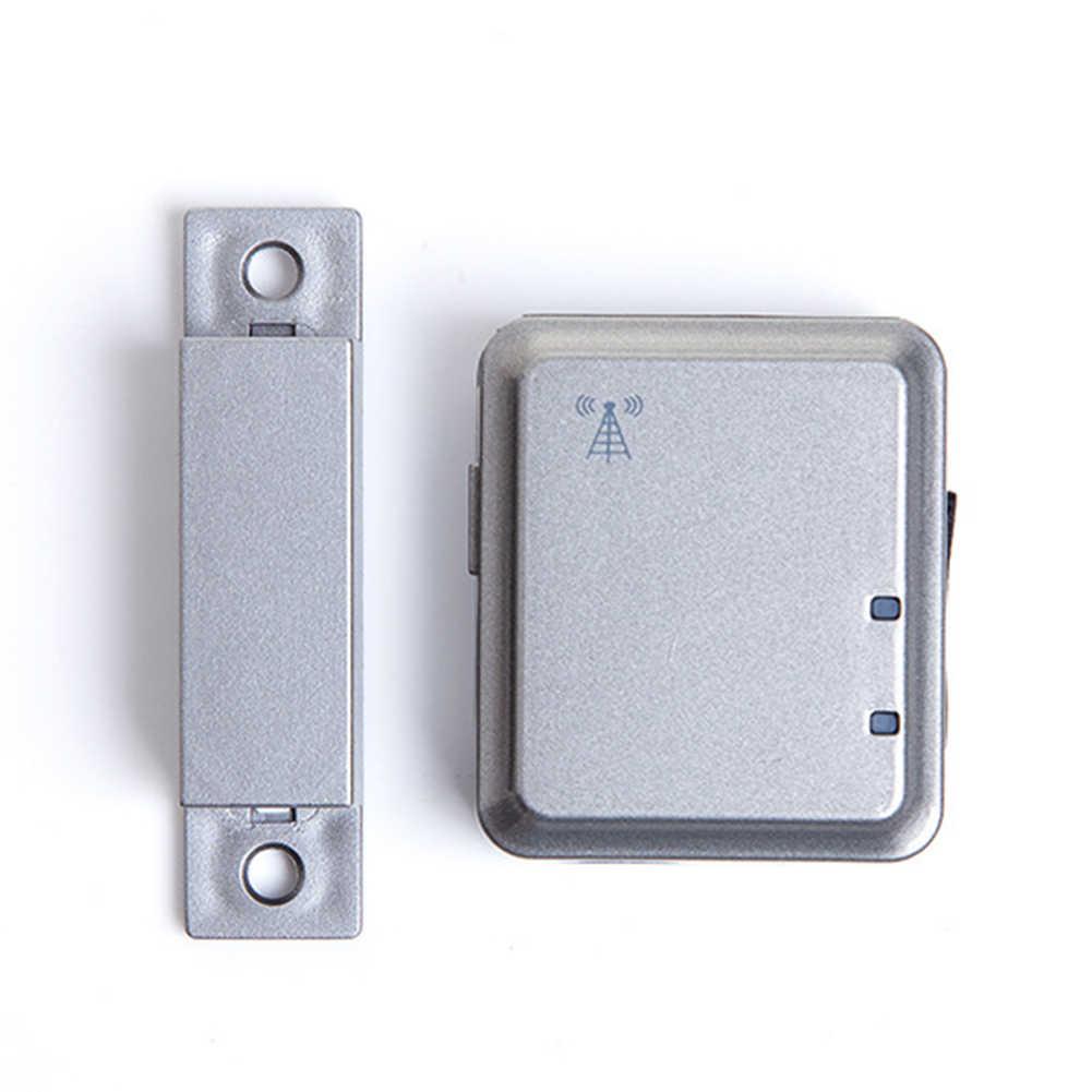 Mini Keamanan Jendela Pintu Alarm Magnetik Alat GSM Nirkabel Alarm Sirene Gadis Tunggal Tua Anak-anak Rumah Kamar Aman Penjaga Sistem