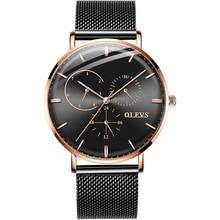 Men ultra thin Quartz Watch Top Brand Luxury Wrist Watches Casual Business stainless steel Watches Waterproof Man Clock Reloj все цены
