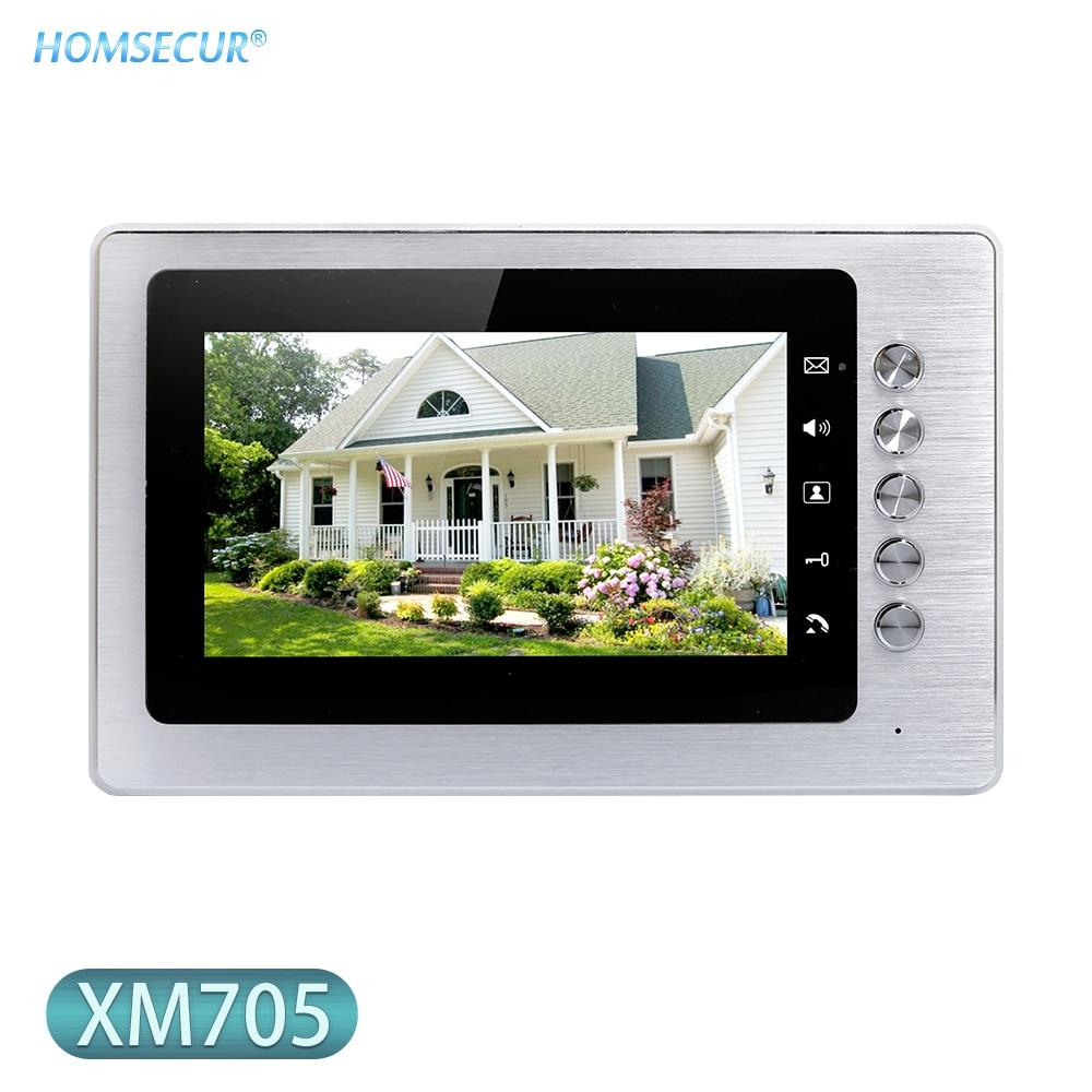 HOMSECUR XM705 7inch Indoor Monitor For Video Door Phone System