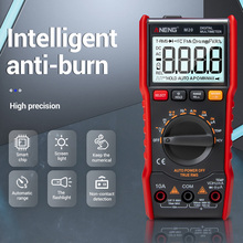 M20 Digital Multimeter 6000 Zählt Tester ESR Meter Multimeter AC/DC Amperemeter NCV Frequenz Meter mit Hintergrundbeleuchtung FKU66