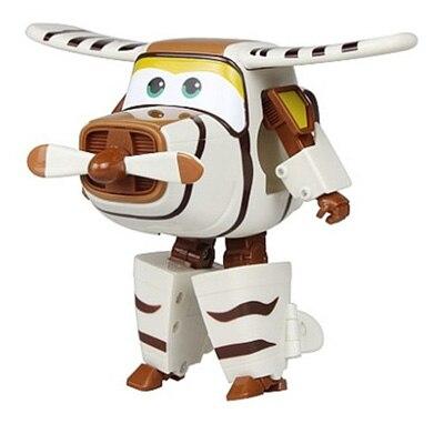 Большой! 15 см ABS Супер Крылья деформация самолет робот фигурки Супер крыло Трансформация игрушки для детей подарок Brinquedos - Цвет: No Box BELLO