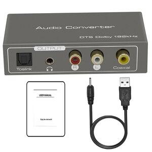 Image 5 - Adaptador de Audio ARC HDMI, Extractor de Audio Digital a convertidor de audio analógico, coaxial toslink de 192kHz a salida analógica Jack de 3,5mm