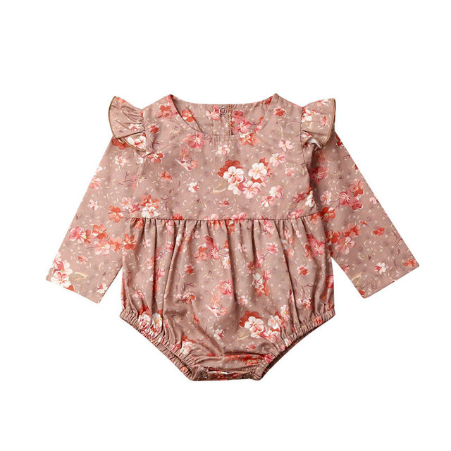 Newborn Kids Baby Bodysuit...
