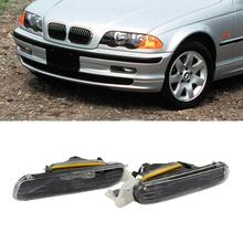 1 Pair Fog Lights Car Halogen Light Front Bumper Fog Light For BMW 3 Series E46 98-01