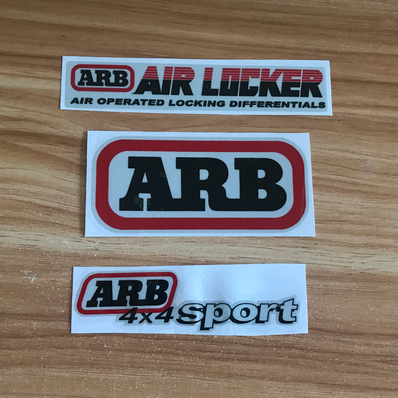 High Quality For ARB AIR LOCKER 4X4 Logo SUV Scratch Cover Stickers Reflective JDM Hellaflush Car Sticker Auto Accessories