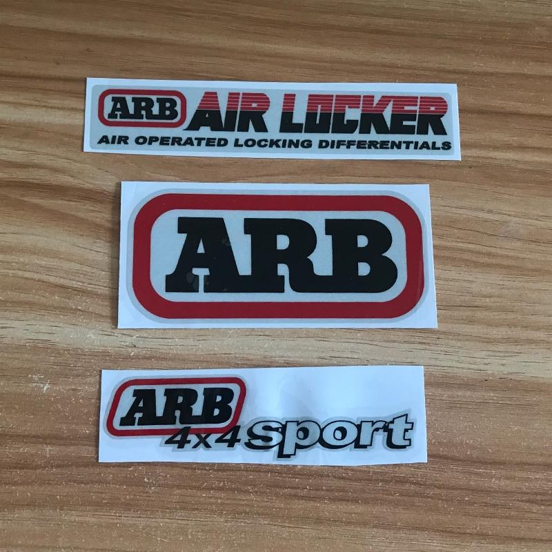 High Quality For ARB AIR LOCKER 4X4 Logo SUV Scratch Cover Stickers Reflective JDM Hellaflush Car Sticker Auto Accessories