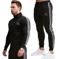 Men's Fashion Tracksuit Casual Sportsuit Men Hoodies/Sweatshirts Sportswear JORDAN 23 Coat+Pant Tracksuit Men Set Brand Clothing