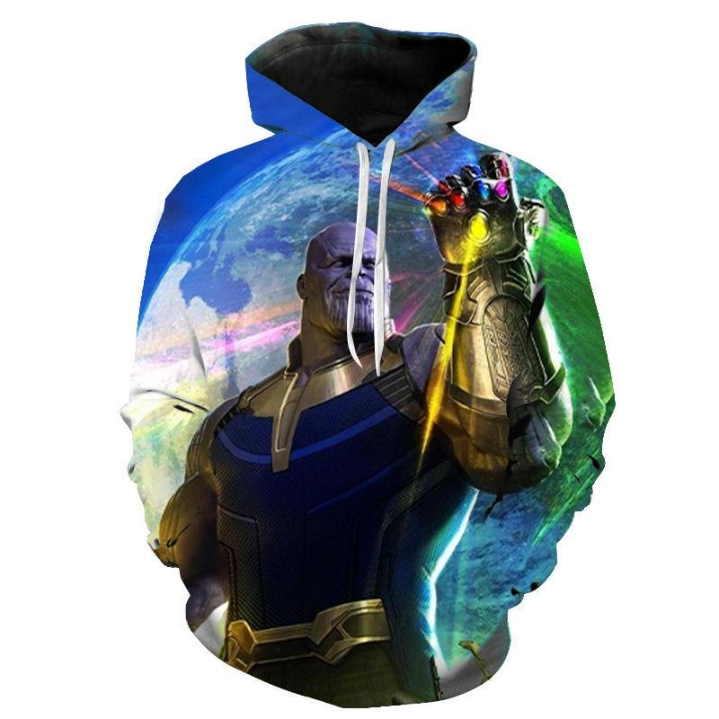 The Avengers 4 Endgame Thanos Hoodies Men Women Children Sweatshirts Pullover 2020 Male Hip Hop Boy Girl Pullovers Streetwear