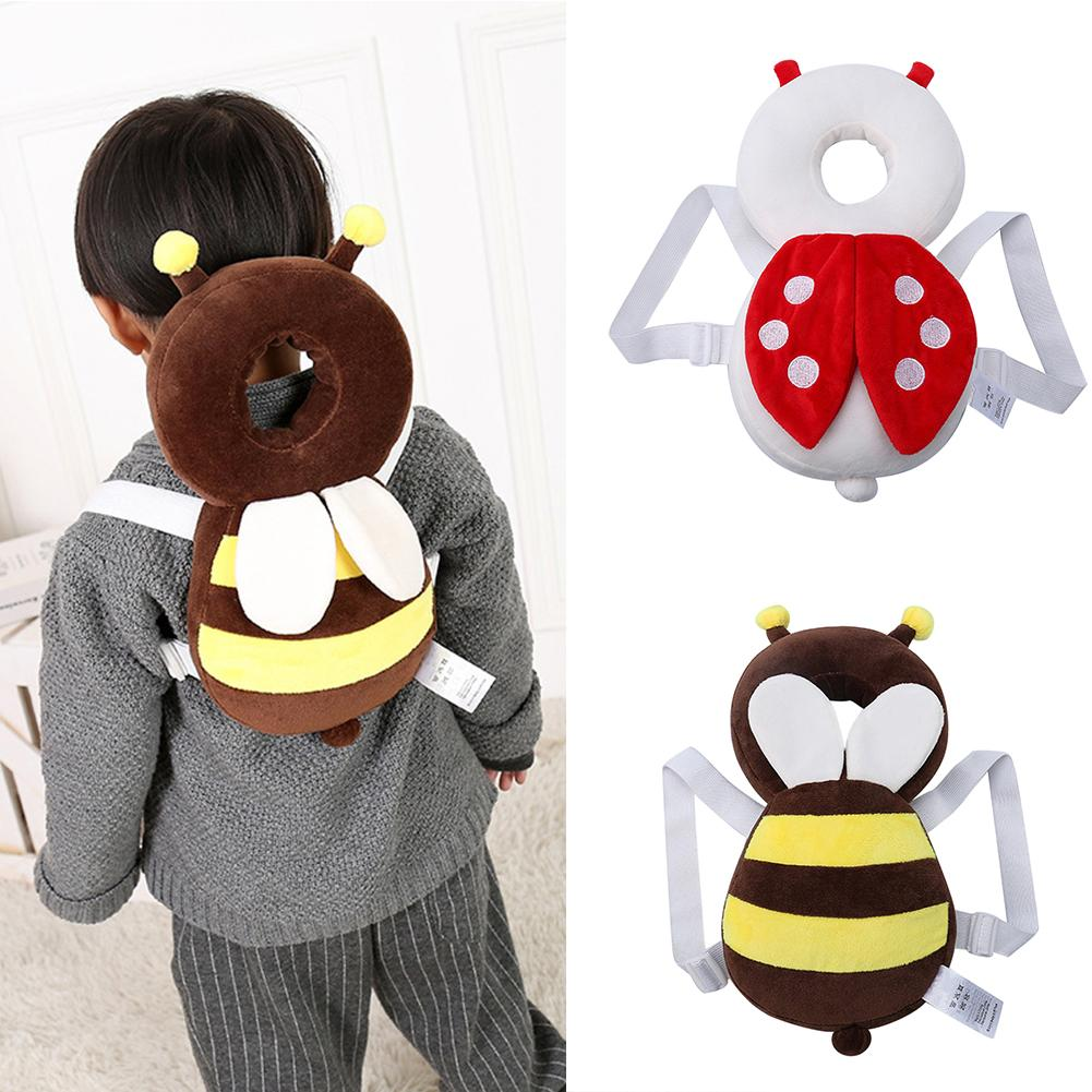 Born Baby Head Protection Pad Adjustable Baby Learning Sit Pad Anti-fall Head Pad Cute Resistance Cushion Baby Protect Supplies