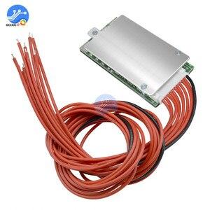 Image 1 - Placa de proteção de energia da bateria de lítio li ion 10s 36v 15a bms pcb pcm para ebike bicicleta elétrica evitar sobrecarregar