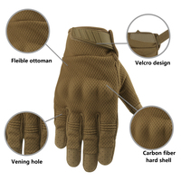 Breathable Full Finger Touch Screen Motorcycle Gloves Summer Tactical Military Gloves Racing Riding Cycling Motocross Gloves 5