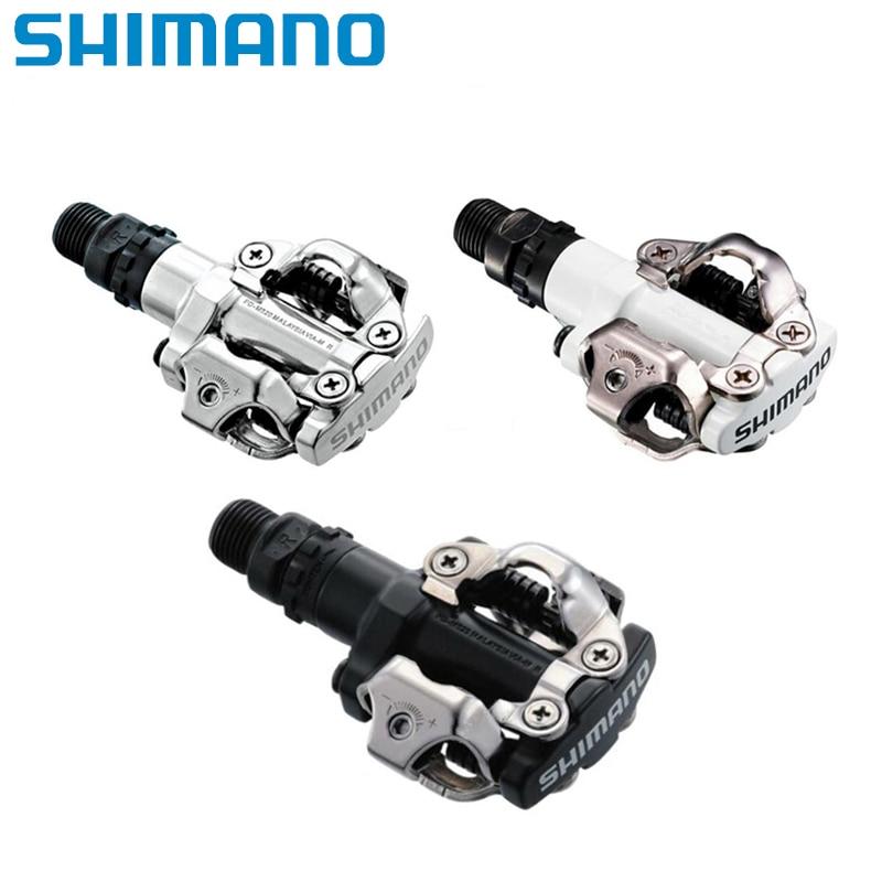 SHIMANO PD-M520 SPD MTB Mountain Bike pedal Clipless Cycling Pedals Cleats NIB