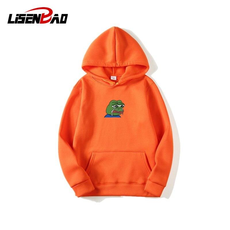 2020 New Sad Tearing  Print Hoodies Men Pullover Tops Hooded Sweatshirt Moleton Hip Hop Hoodies Sweatshirt Male Hoodie Hombre