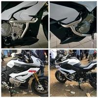 Motorfiets Gemodificeerde Motor Bescherming Crash Bar Bumper Frame Versterkte Verdikte Voor Bmw S1000XR Met Schroeven