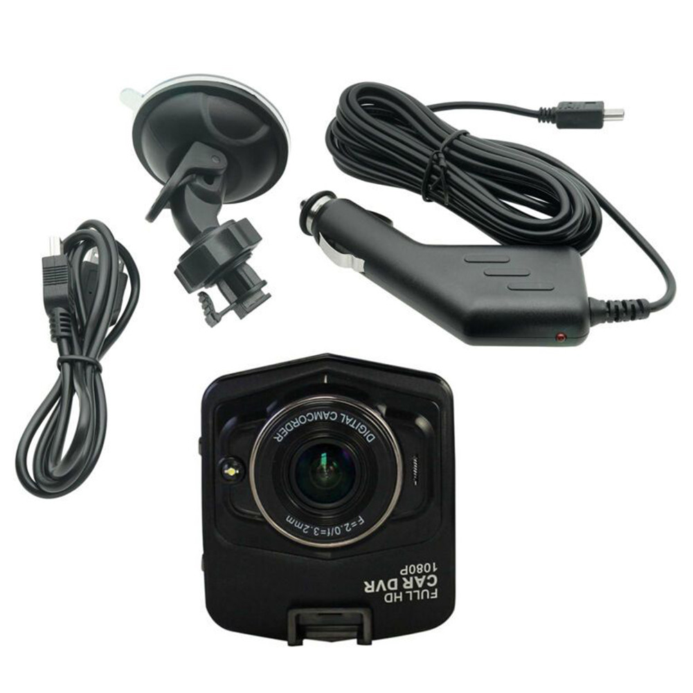 Car DVR G-Sensor Camera Registrator-Recorder Mini Camcorder Video Night-Vision 1080P