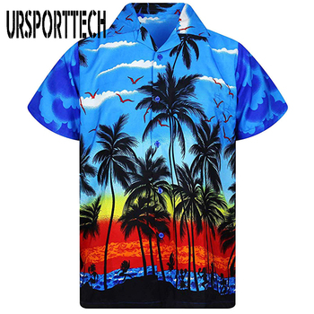 Men Shirt Summer New Casual Slim Fit Short Sleeve Hawaii Shirt Quick Dry Printed Beach Shirt Male Top Blouse Hawaiian Shirt Men men shirt summer new casual slim fit short sleeve hawaii shirt quick dry printed beach shirt male top blouse hawaiian shirt men