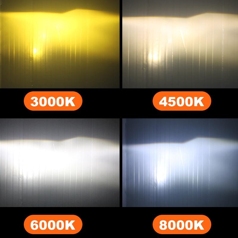 BAGELED CSP Car Headlight H4 H7 LED 3000K 4300K 6500K 8000K H1 H3 H8 H9 H11 9005 9006 HB3 HB4 880 881 LED Bulb Auto Fog  Light 3