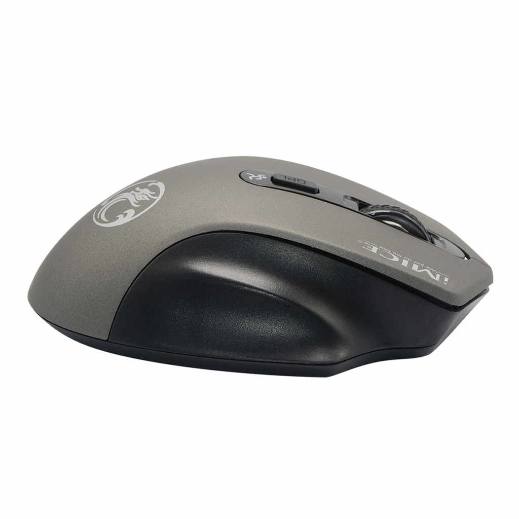 Kablosuz dizüstü için fare bilgisayar 2000DPI ayarlanabilir USB alıcı optik bilgisayar fare 2.4GHz ergonomik fareler sessiz fare 19NOV1